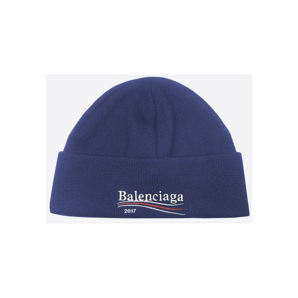 Balenciaga 2017 Beanie ( 250) ❤ liked on Polyvore featuring men s fashion f76ade4320c