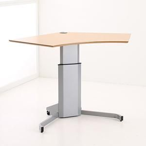 501 7 Electric Lift Adjustable Height Desk Base Black Frame Conset Adjustable Height Desk Adjustable Desk Best Standing Desk