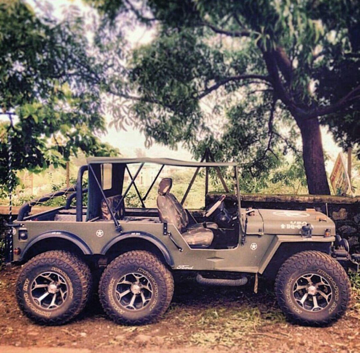 6x6 jeep wrangler