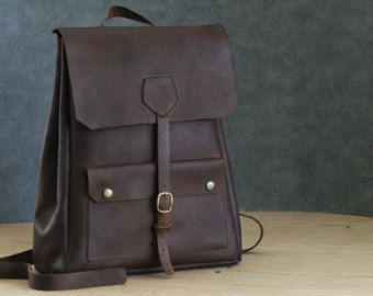 M Leather Backpack