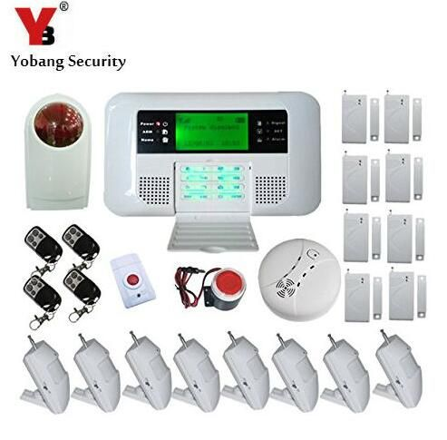 Yobang Security Yobang Security Alarma Gsm Pstn Alarmanlage Homesecure Home Bur Home Security Systems Best Home Security System Wireless Home Security Systems