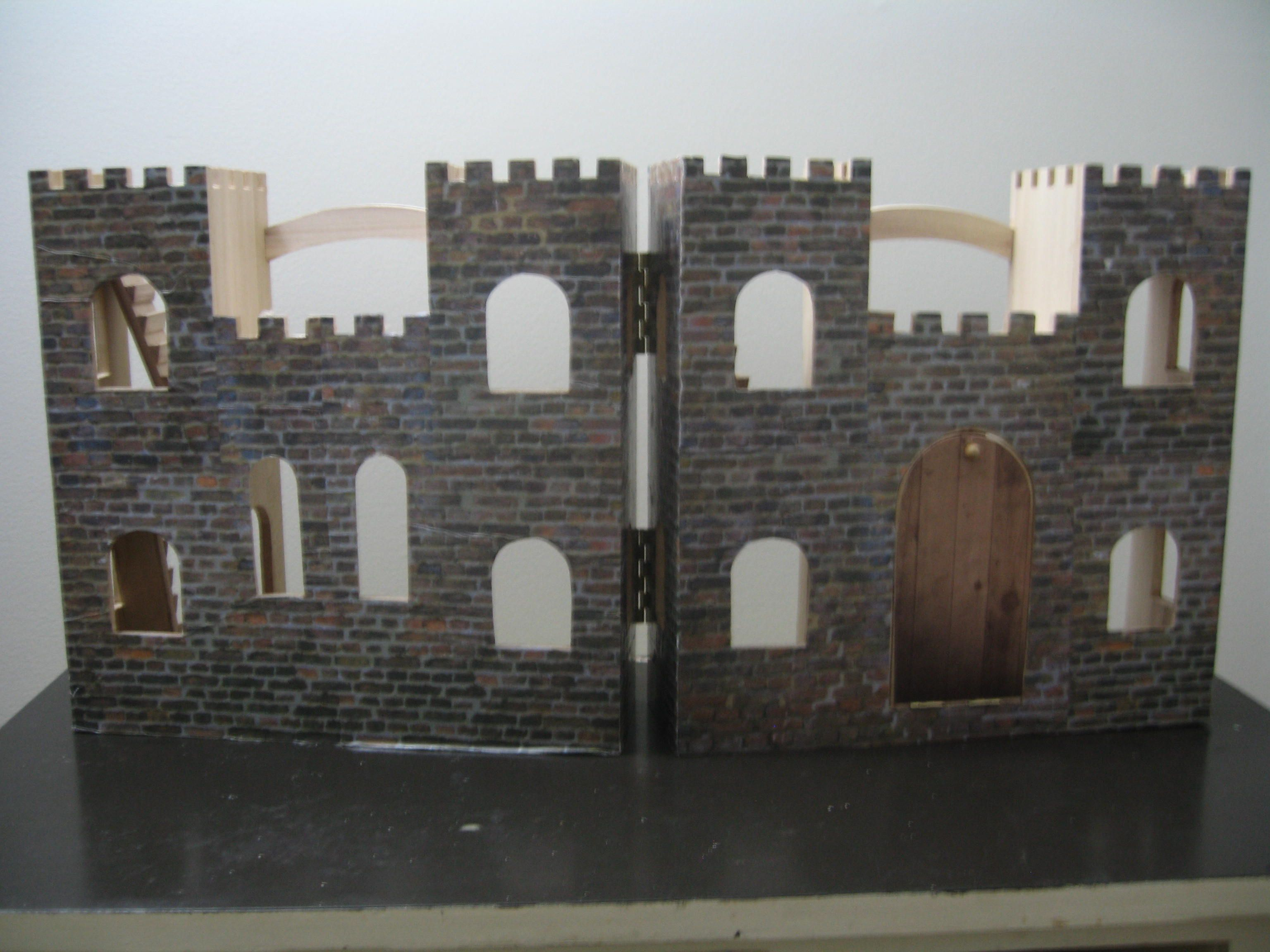 The Diy I Will Never Do Again Wooden Castle Castle Crafts
