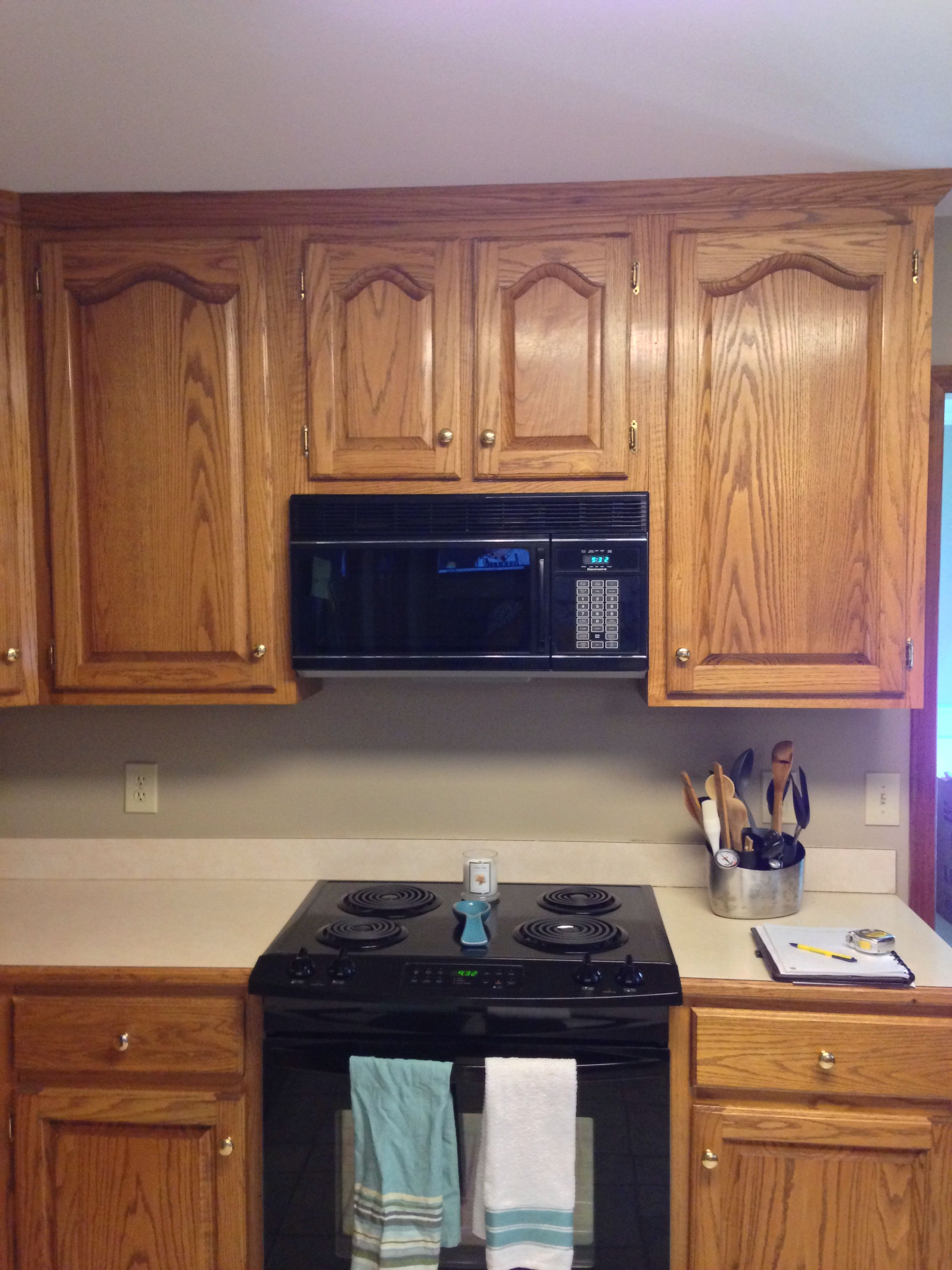 pin on ugly kitchen gets a reface