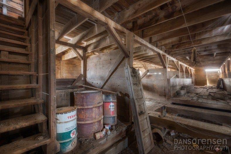 Abandoned Barn Inside