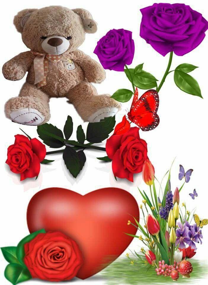Poemas De Amor Osos Rosas Y Corazones Rosas Por Isaura Olinda Gomez Cosas De Amor Amor De Abuela