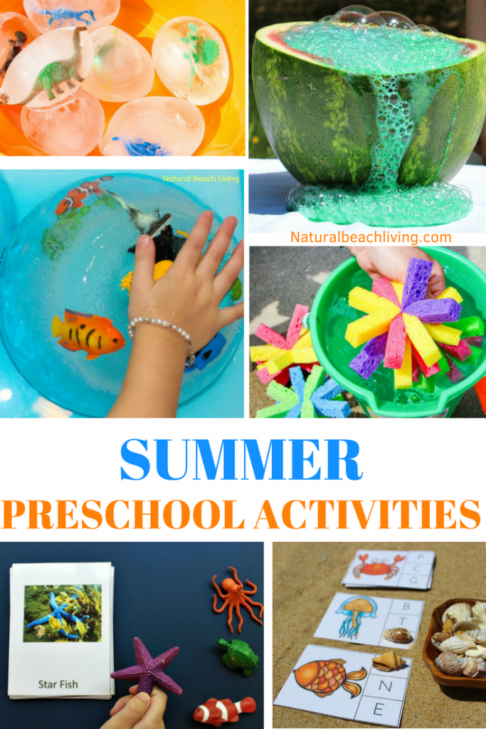 June Preschool Themes With Lesson Plans And Activities Summer
