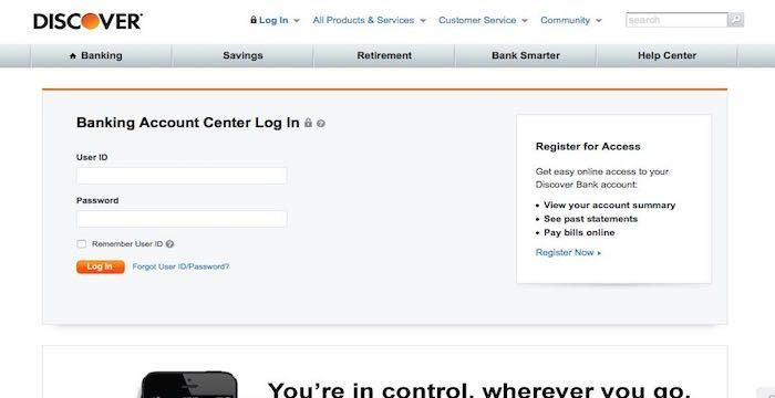 Discover Bank Bill Pay - Login to DiscoverBank.com - Online