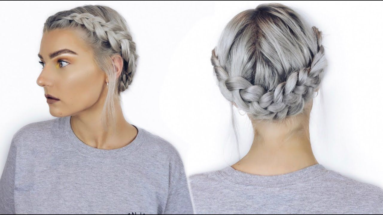 Easy Dutch Halo Braid Tutorial Festival Hair Lovefings