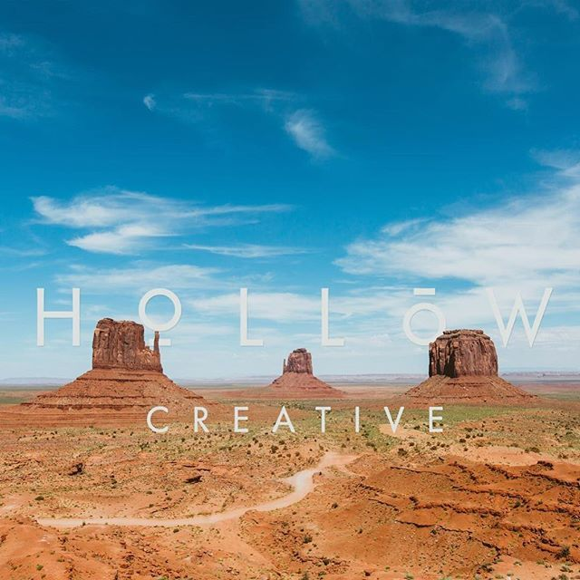 In two months time we conclude our first year of business. Thank you all who've joined us along the way. You help us create all things good. #hollow #hollowcreative #photographer #designer #auckland #nz #newzealand #monumentvalley #utah #arizona #usa