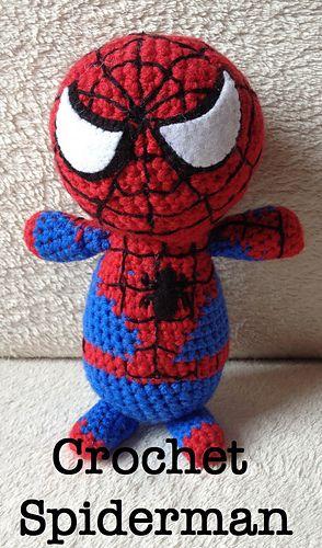 Crochet Spiderman Amigurumi | Amigurumis y mas | Pinterest