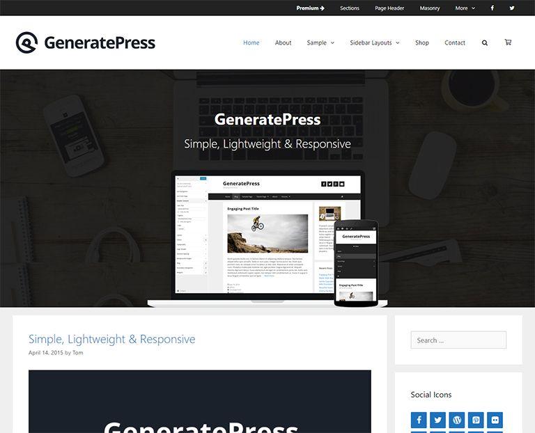 30+ Best Free Personal Blog WordPress Themes & Templates 201