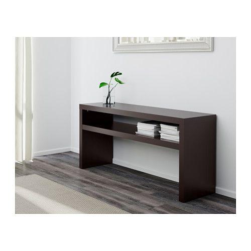 Ikea Lack Black Brown Console Table Atlanta Apartment
