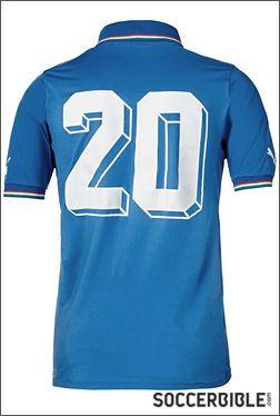 Italia Limited Edition Commemorative 1982/2012 Shirt