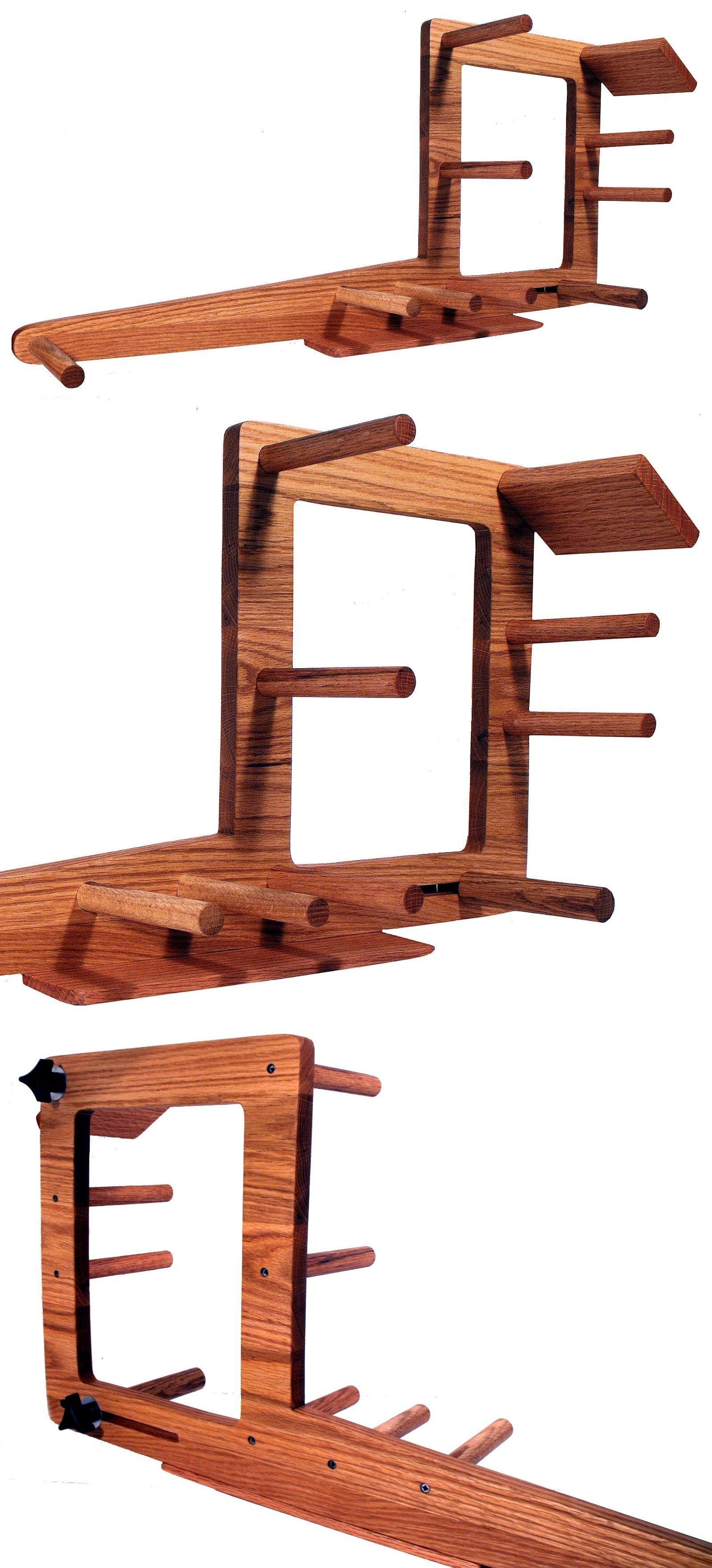 Handcrafted Red Oak Floor Standing Inkle Loom Tablet Weaving Card Weaving Loom