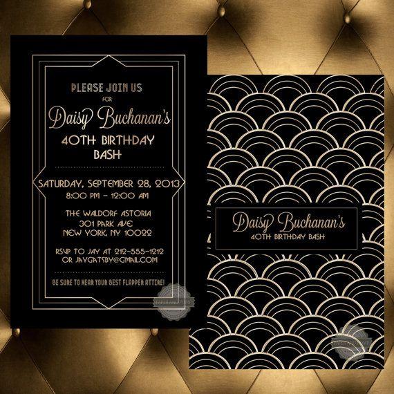 birthday invitation save the date wedding milestone 30th 40th 50th