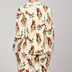 b369c83ba7 Frankie   Johnny Women s Flannel Cowboy Pajamas