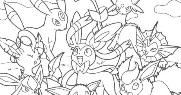 Pikachu and Eevee Friends coloring book | DBZ and pokémon ...