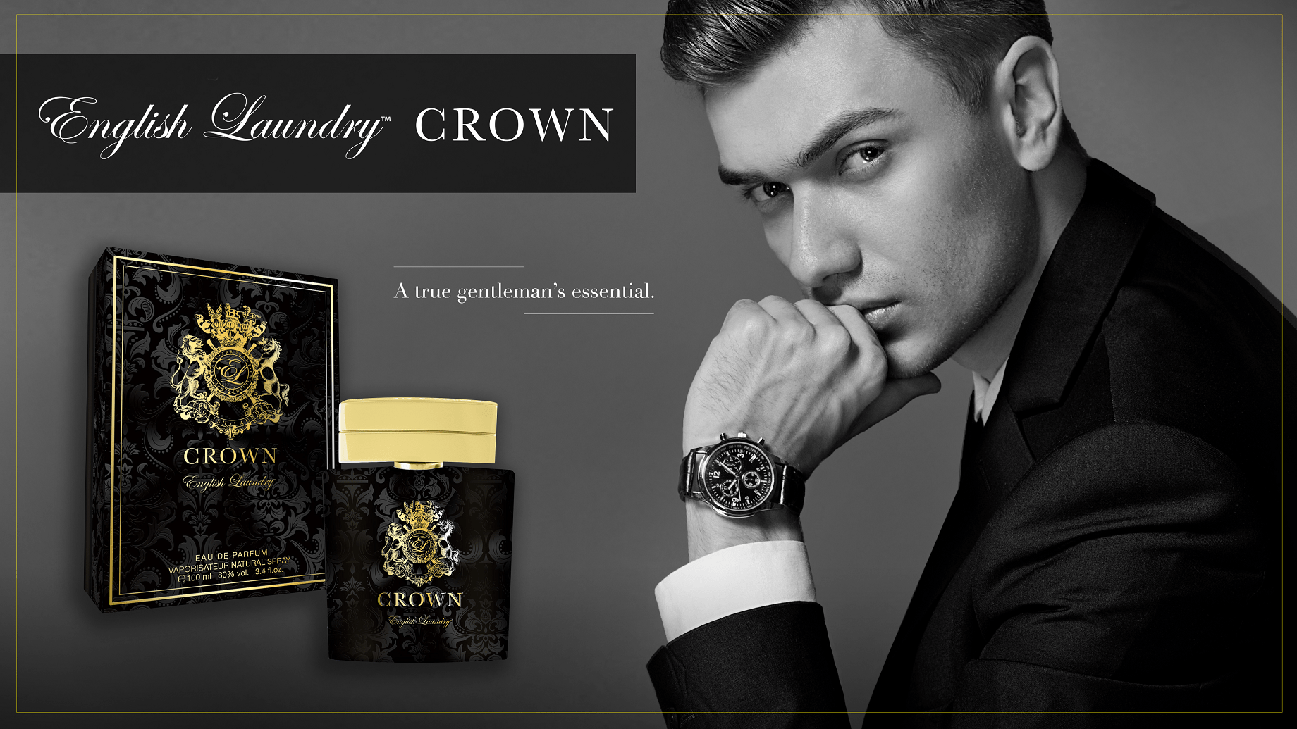 June 2019 Cologne Of The Month English Laundry Crown Parfum Homme