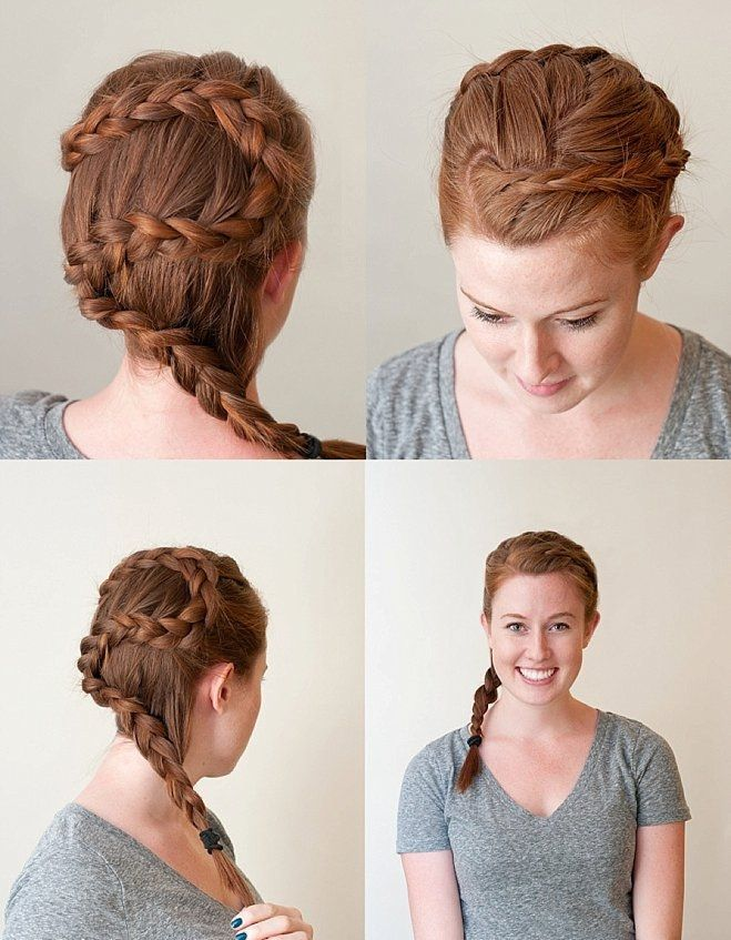 The Circlet French Braid: A How-To Guide for Any Wedding Occasion | Hair Tutorial | Braid Tutorial | Bridal Updo