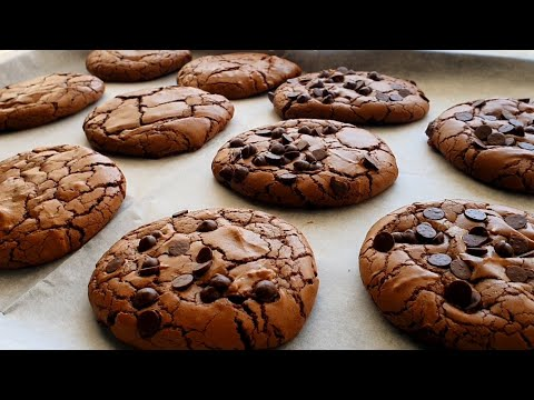 עוגיות בראוניז הכי טובות שתכינו The Best Brownie Cookies كوكيز براوني Youtube In 2020 Best Brownies Brownie Cookies Food