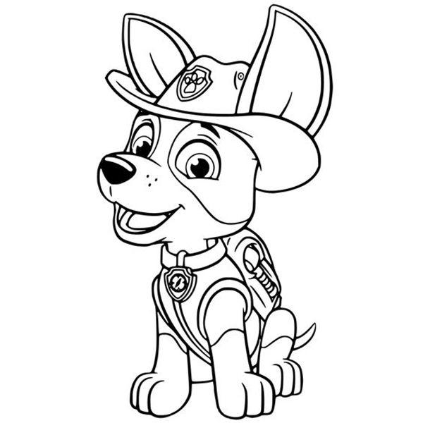 Dibujos De La Patrulla Canina Para Colorear Gratis Colorear