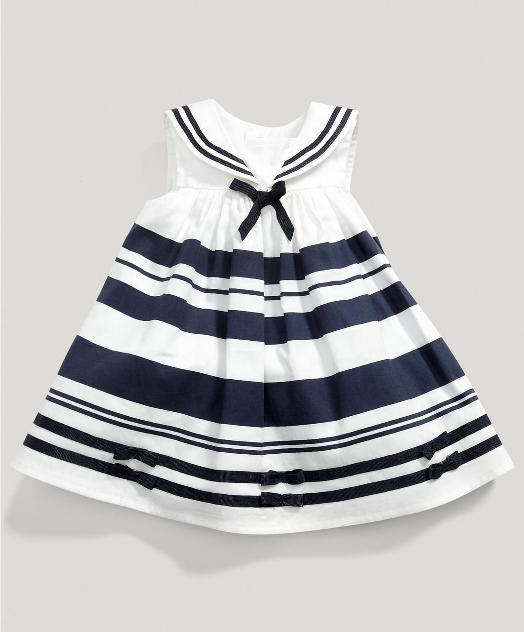 7470ffb7dbc8e Girls Welcome to the World Sailor Dress - Special Occasion & Christening -  Mamas & Papas