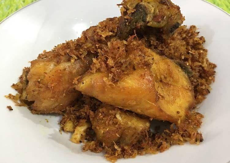 Resep Ayam Goreng Serundeng Kelapa Oleh Sz22ly Resep Ayam Goreng Resep Masakan Indonesia Resep Makanan