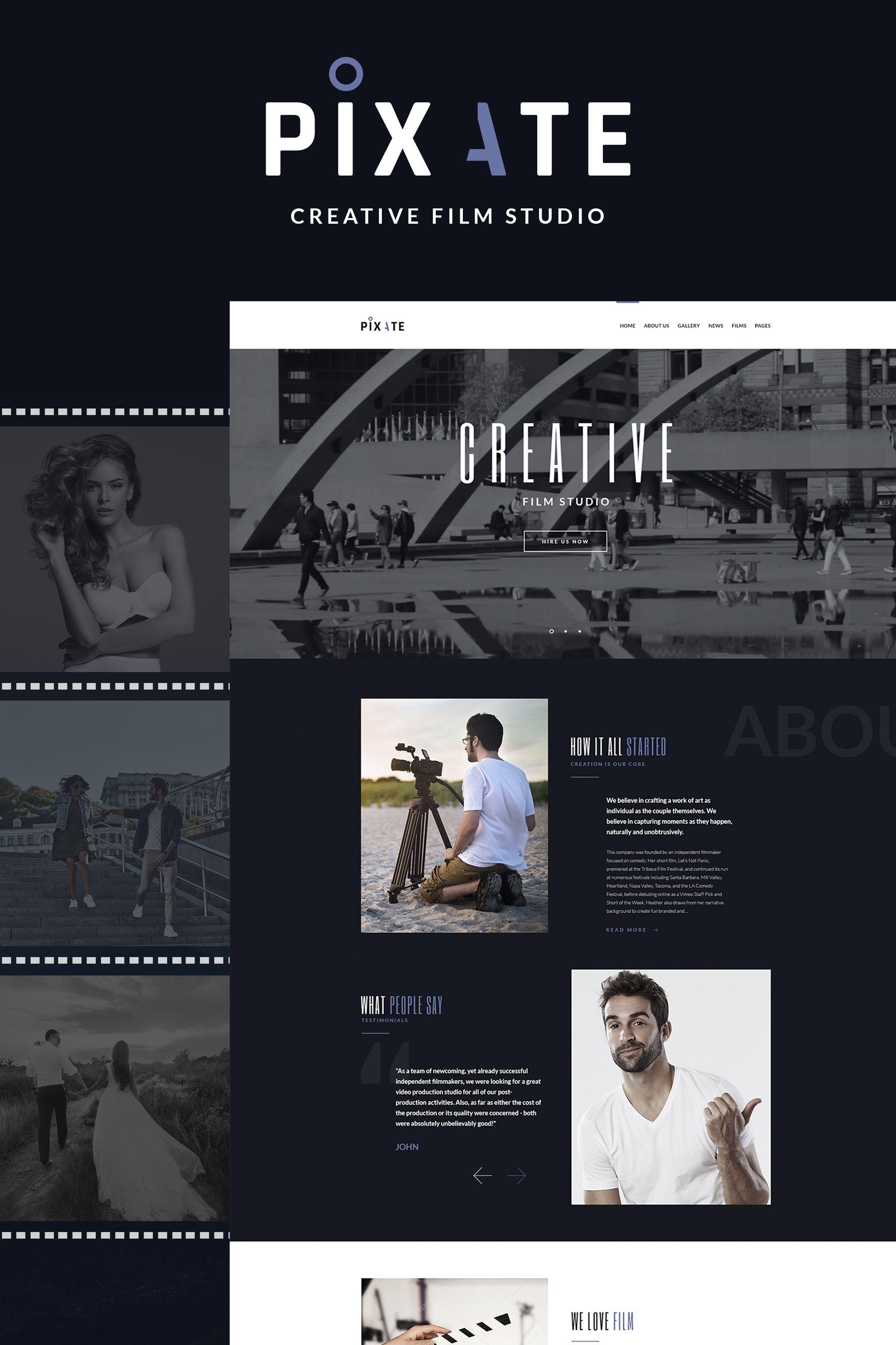Pixate Movie Studio Wordpress Theme Wordpress Entertainment