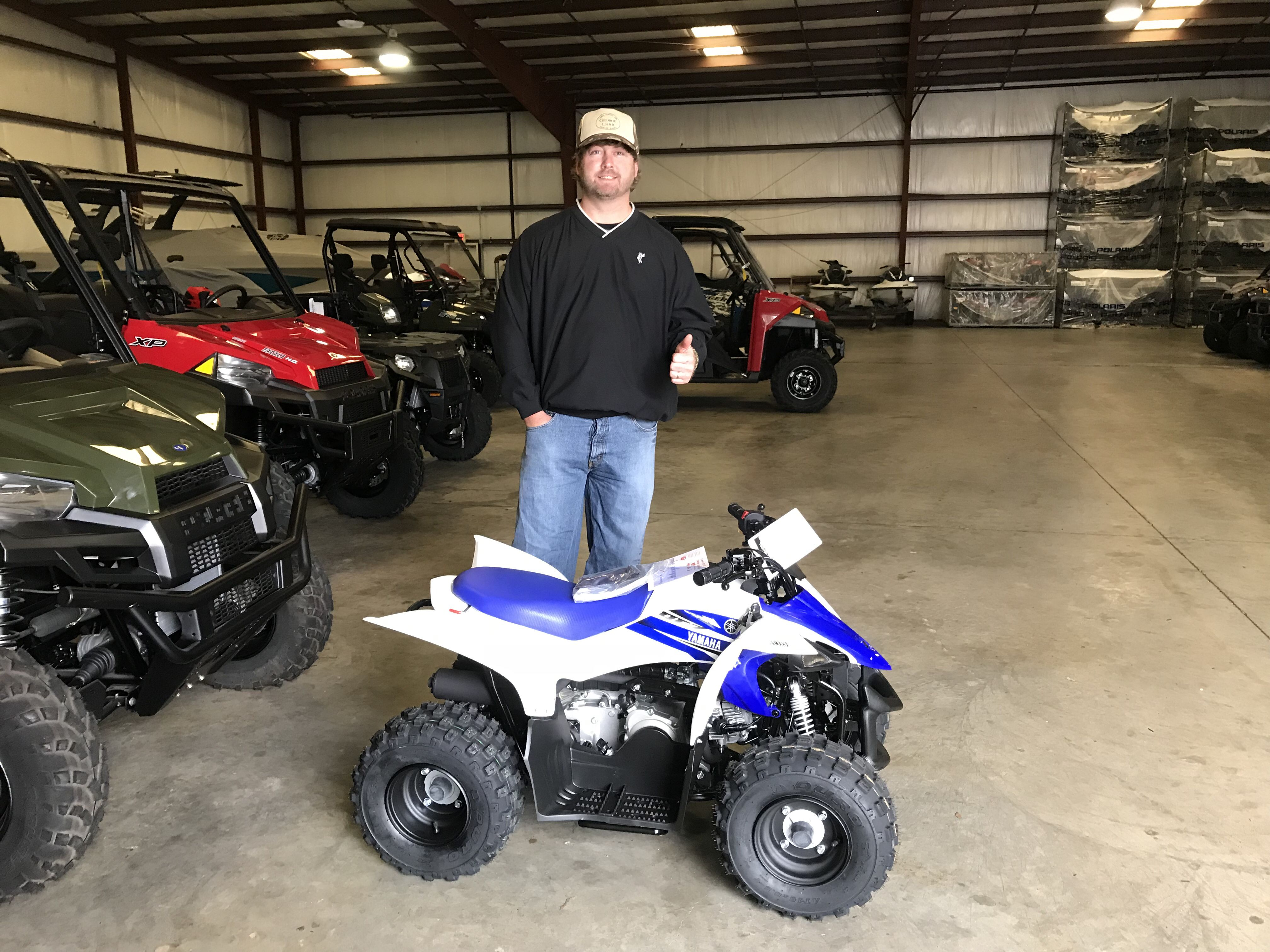Congratulations to Brandon Carr from Vicksburg, MS for