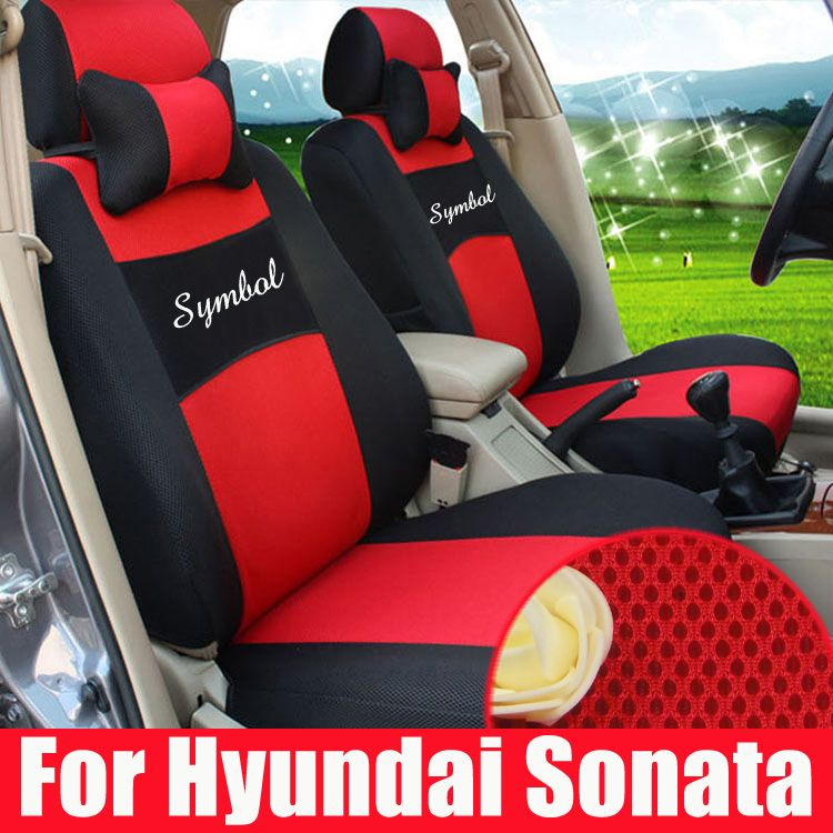 Sport Car Seat Cover For Hyundai Sonata Covers Cars Seats Supports Sandwich Fabric