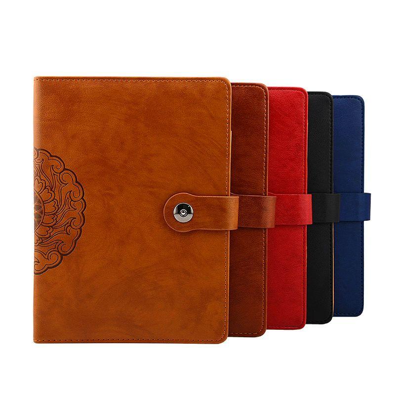 Vintage Notebook Journal B5 Leather Agenda Organizer Office Supplies  Stationeryu2026