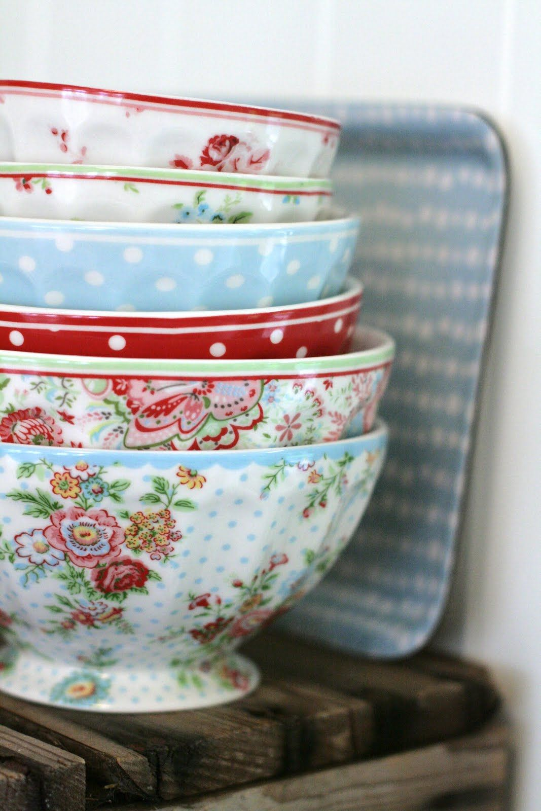 kitchen cups and plates large floor tiles for dress up your with pretty bowls