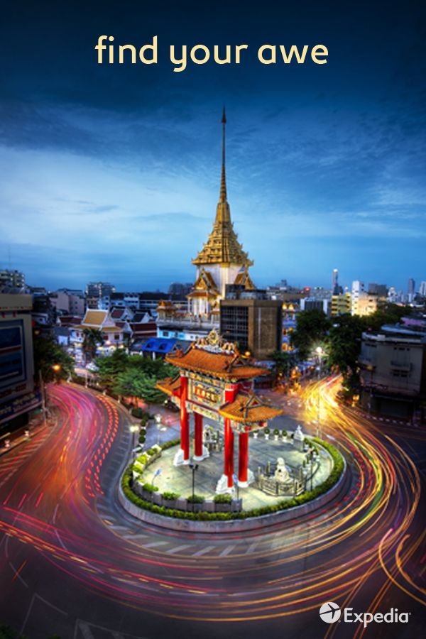 """From the fury of a Muay Thai kickboxing bout, to the gentle pad of monk's sandals at Wat Pho Temple, this """"City of Angels"""" balances chaos and calm.  Discover more about Bangkok, Thailand with our destination guide"""