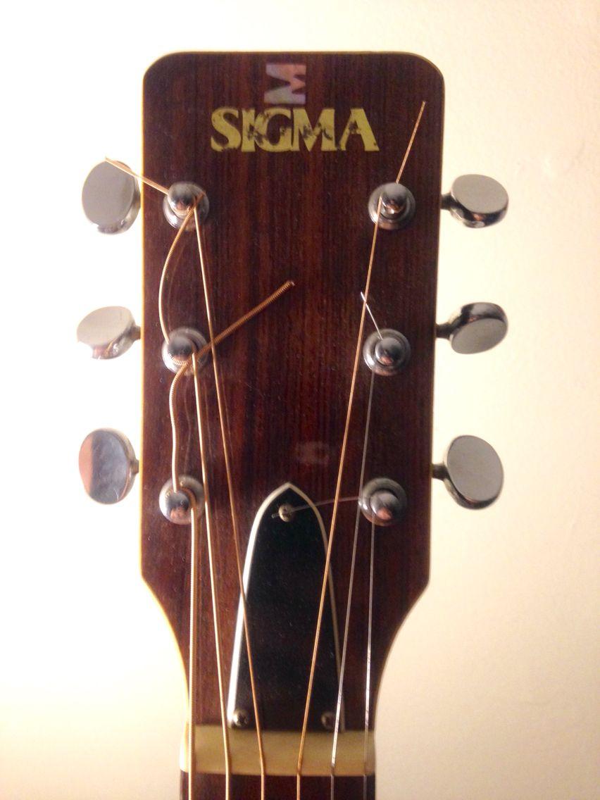 Sigma Martin Guitar Headstock Cool Guitar Martin Guitar Wind Chimes