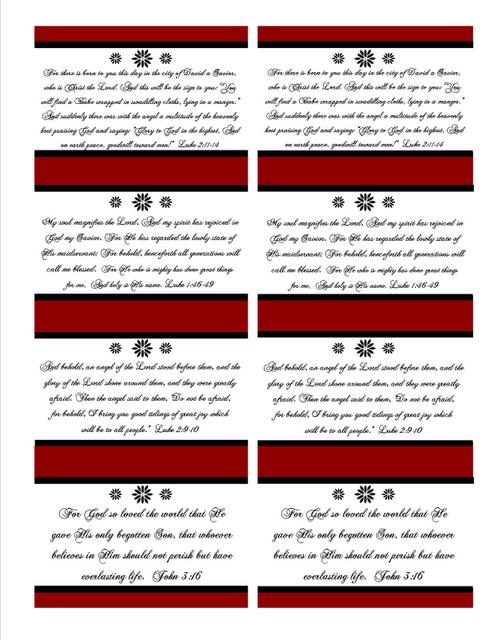 The Blogging Pastors Wife Christmas Printables Verses For Cards Christmas Verses Christmas Card Verses