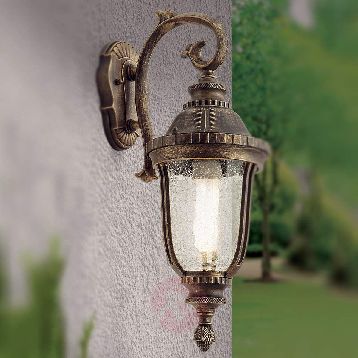 Tradycyjna Wisząca Zewnętrzna Lampa ścienna Paula Lampy