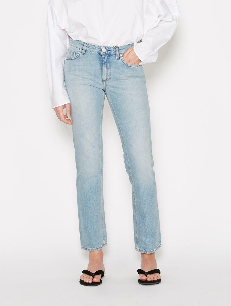 Toteme Straight Jean - Vintage Light Blue