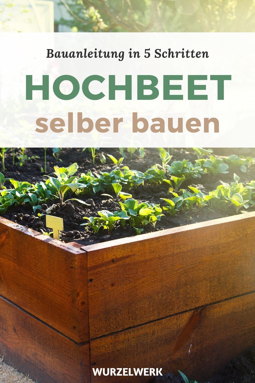 Hochbeet Aus Holz Selber Bauen Einfache Bauanleitung In 2020 Hochbeet Hochbeet Holz Hochbeet Selber Bauen