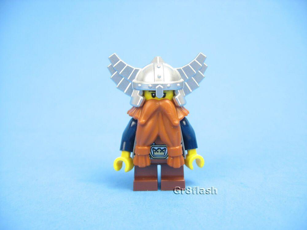 8475f5a70 LEGO 7040 Dwarf Warrior Minifigure -Complete Assembly- Castle Fantasy Era  MINT!  affilink