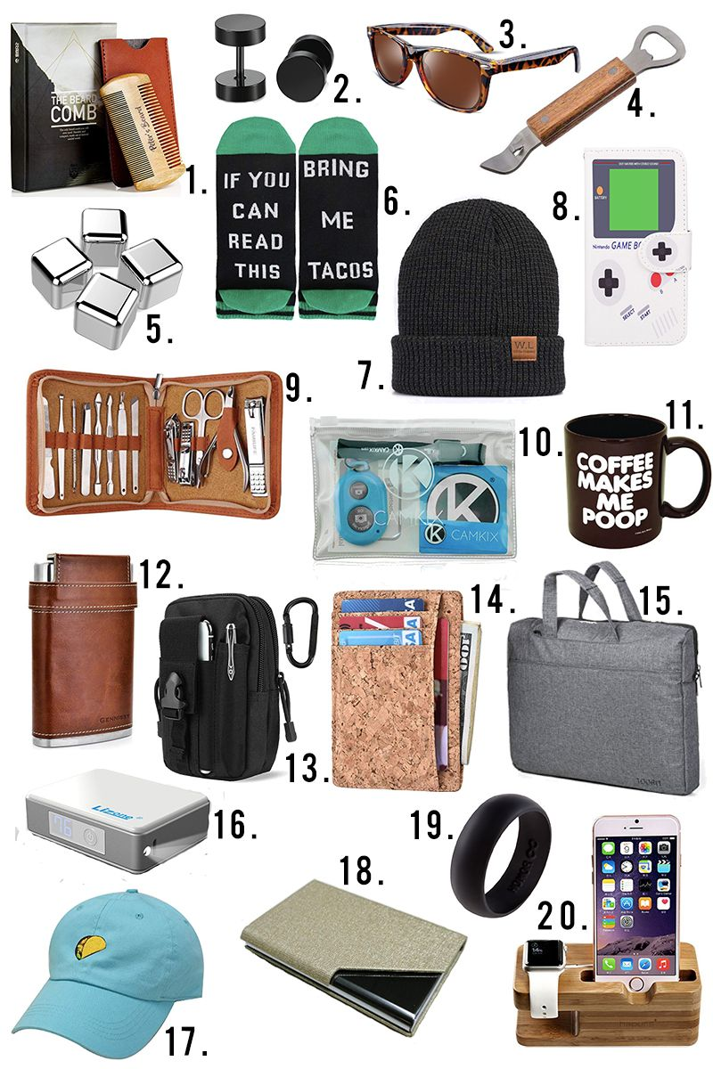 200 Ultimate Holiday Gift Guide Under 10 Mens Gift Guide