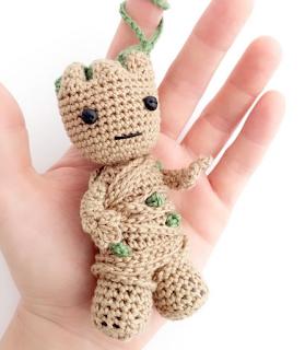 Crochet pattern of Groot | Etsy | 320x279