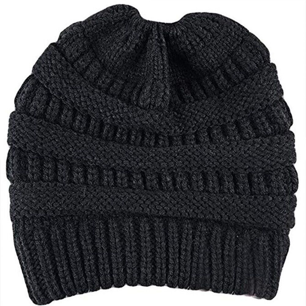 caf2c312978 AUSID Women Beanie Ponytail Hat Bun Knitted Cap Skull Stretchy Winter Warm  0091  fashion  clothing  shoes  accessories  womensaccessories  hats (ebay  link)