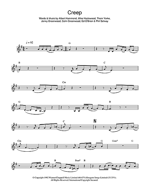 flute radiohead sheet music - Google Search | Sheet Music ...