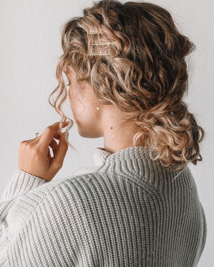 Photo of Como se prometió, ¡aquí están los peinados sin calor de mi nuevo video sobre cabello rizado! …
