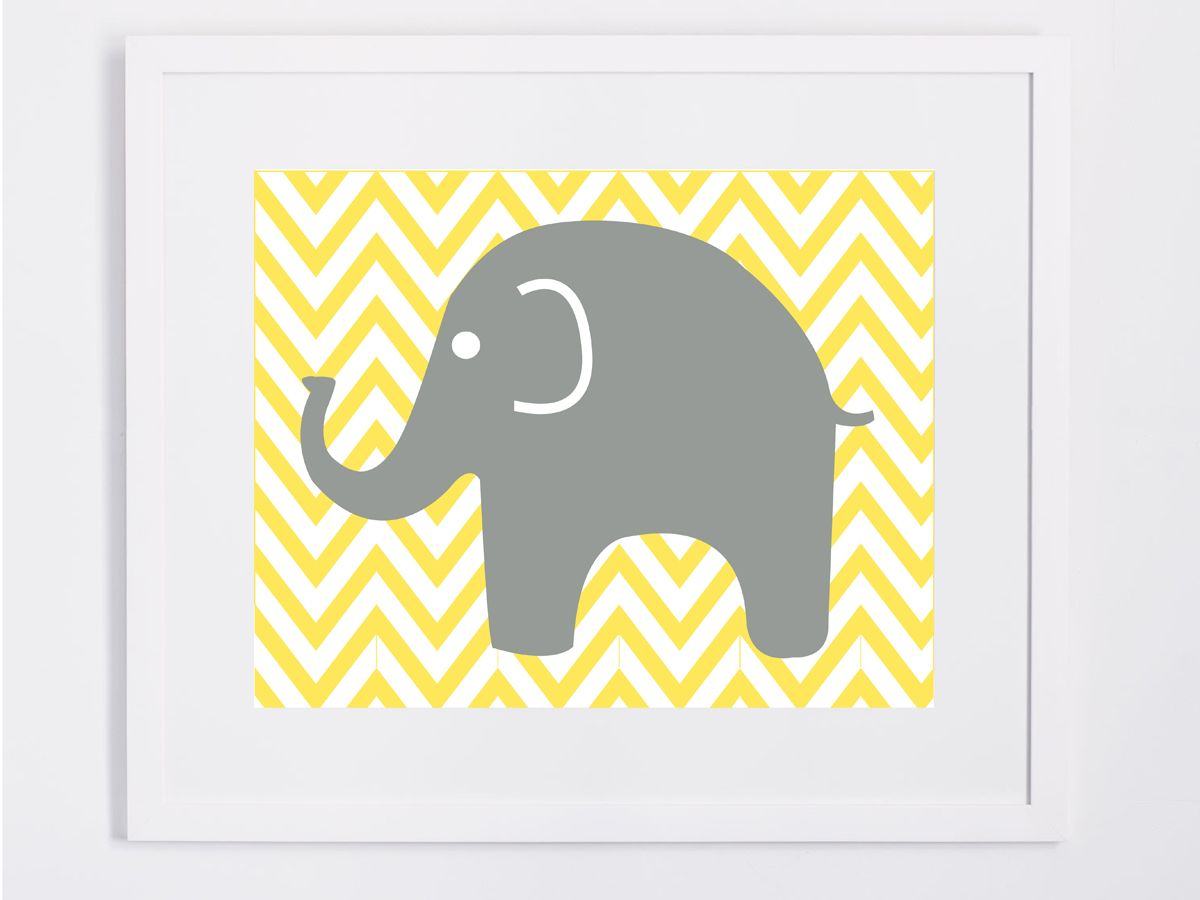 Attractive Baby Elephant Wall Decor Ornament - Wall Art Collections ...