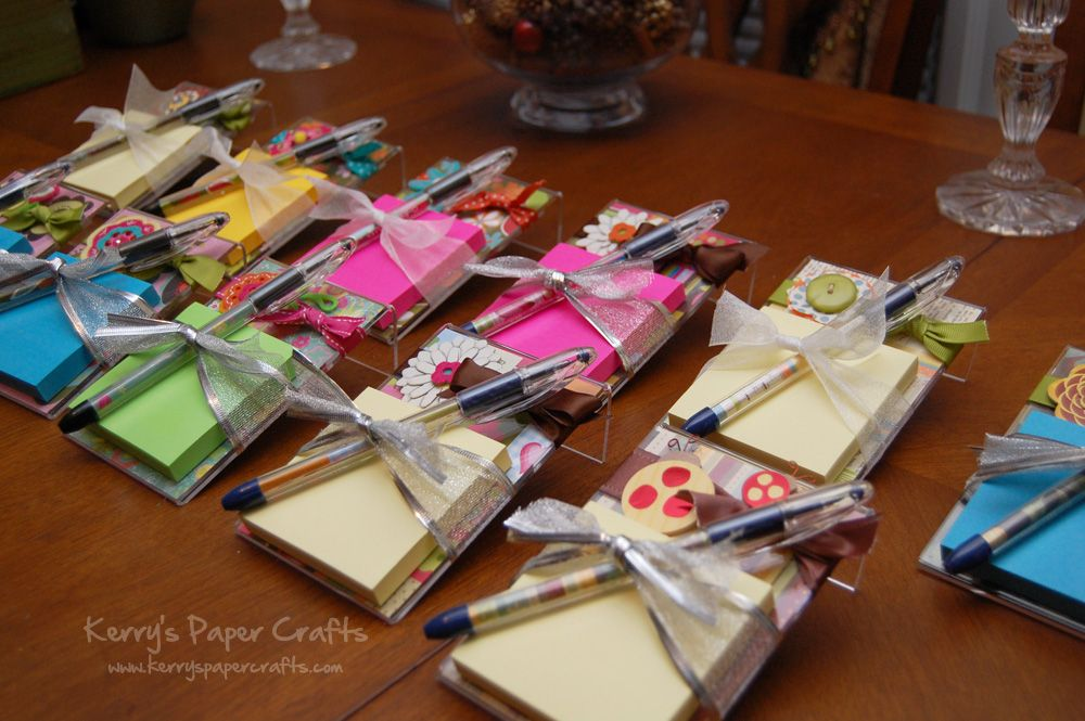 Post it note stands such a cute gift for my team gift for Cute picture gift ideas