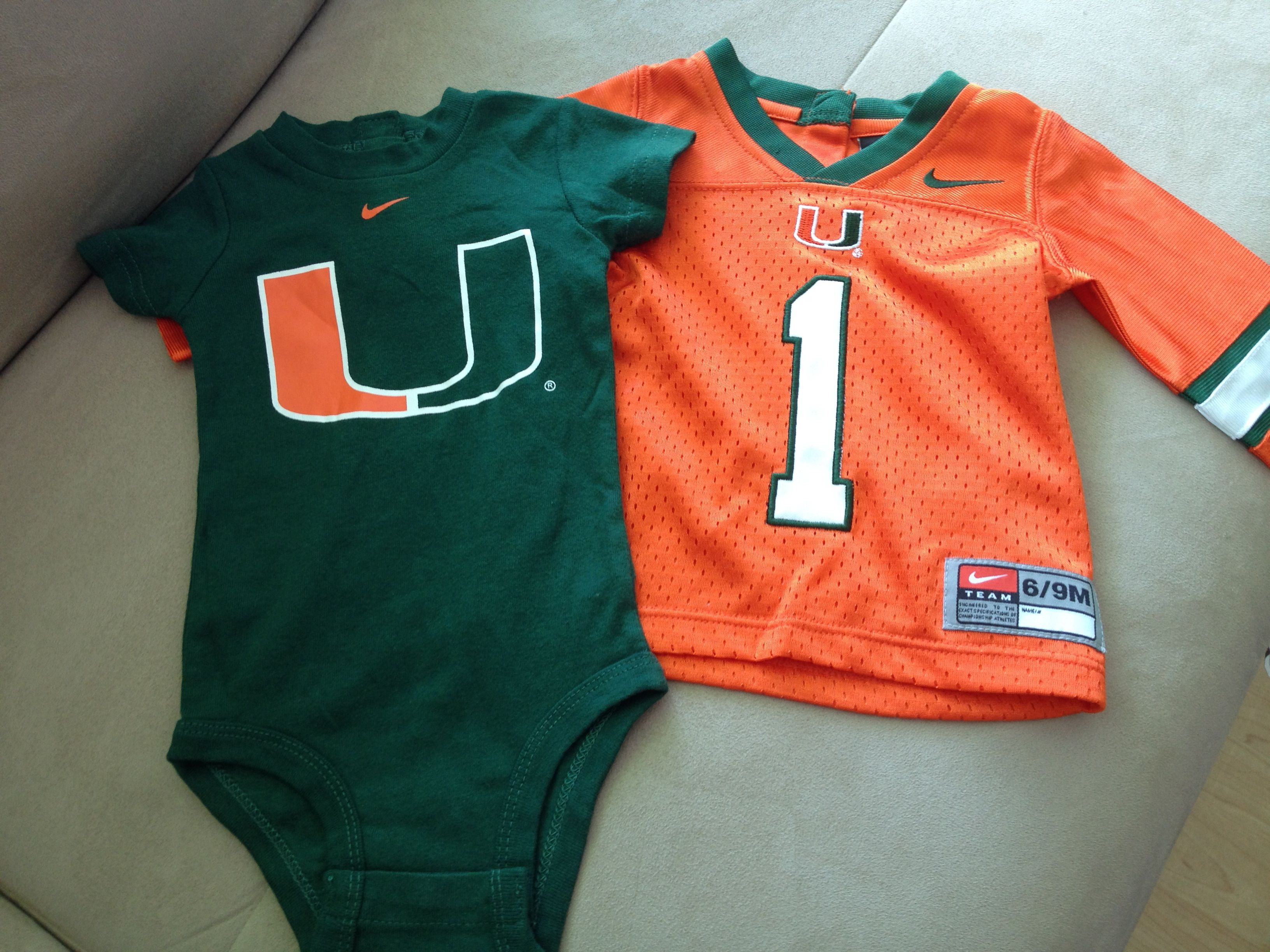Beautiful Images Of Miami Hurricanes Baby Clothes Cutest Baby