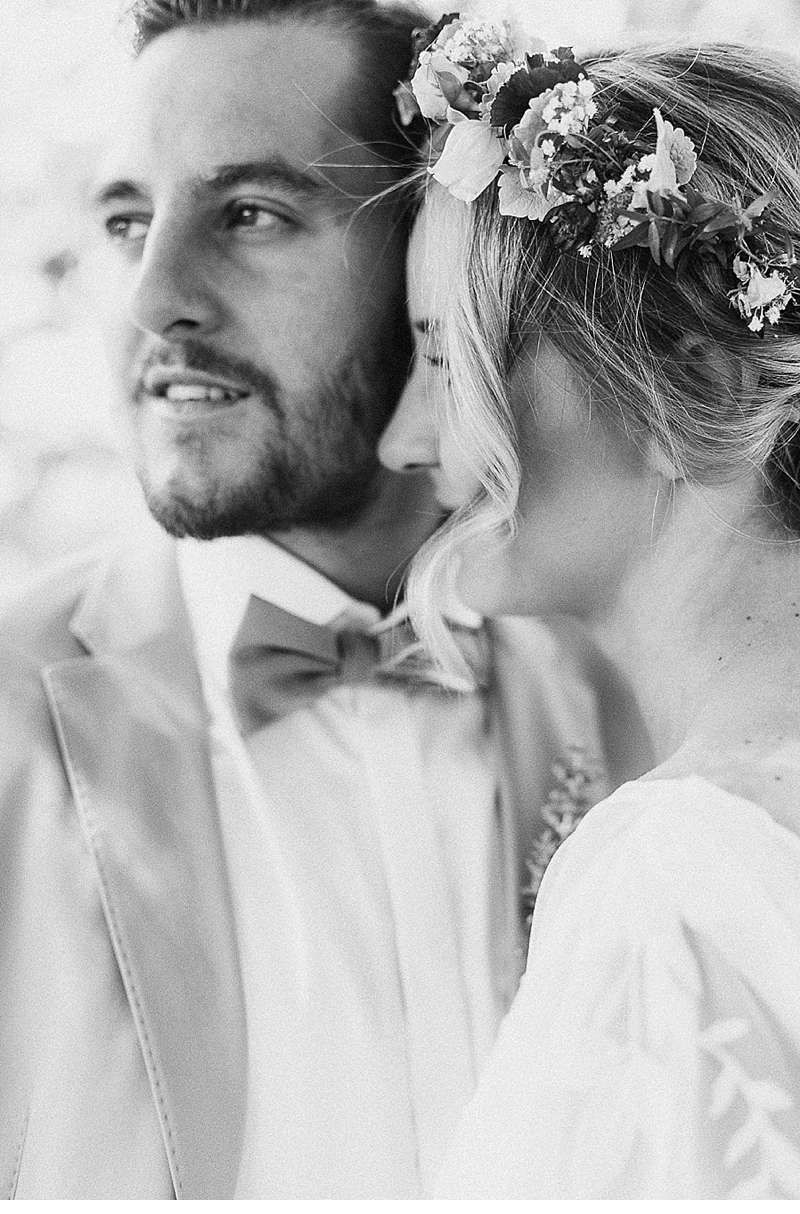 Martina and jean francois rusticbohemain wedding by julia u gil
