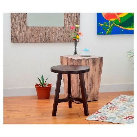 Chase End Table Small Stool Threshold Living Room Side Table End Tables Small End Tables