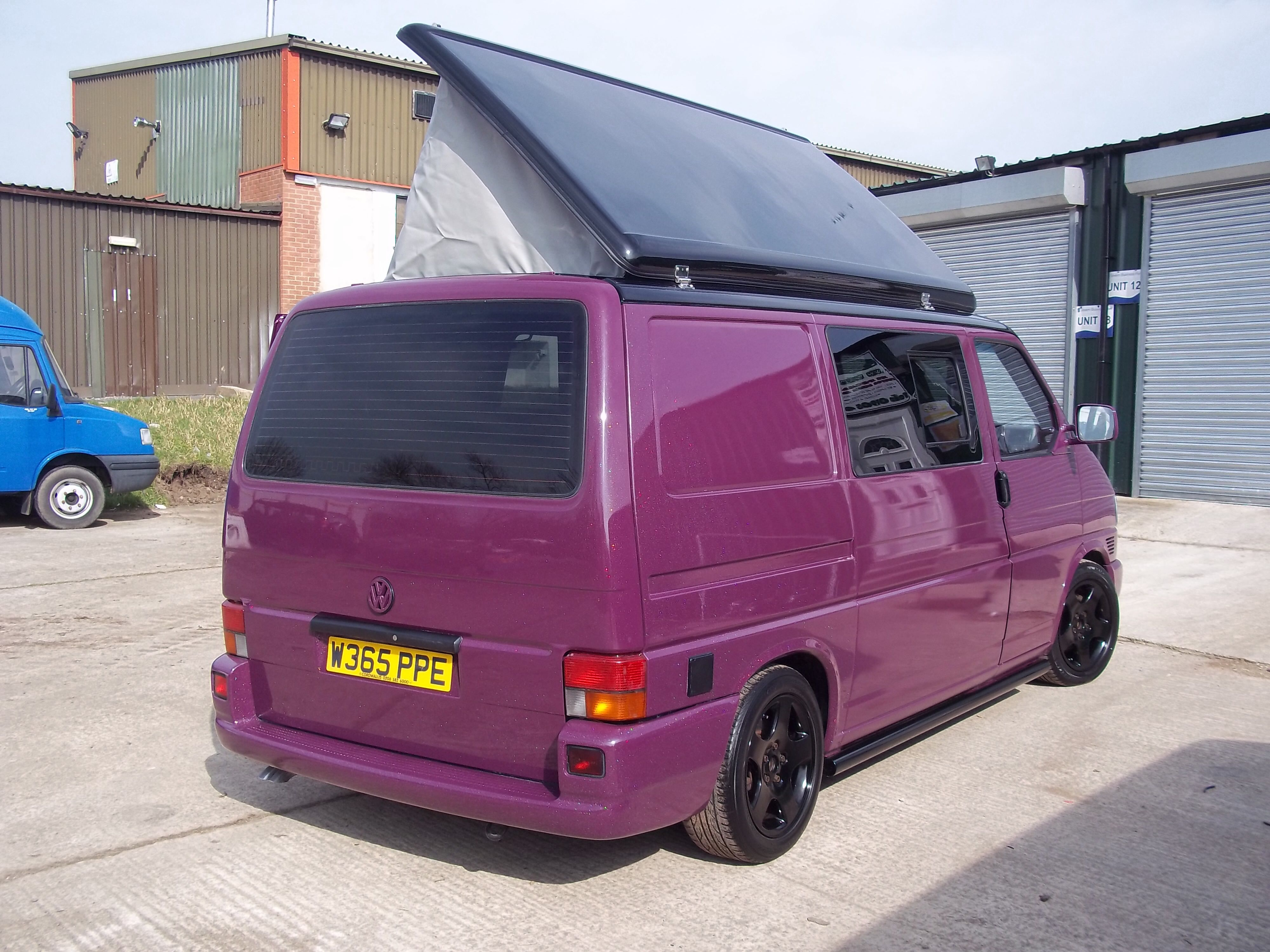 vw t4 purple pop top t4 ideas pinterest vw camper. Black Bedroom Furniture Sets. Home Design Ideas